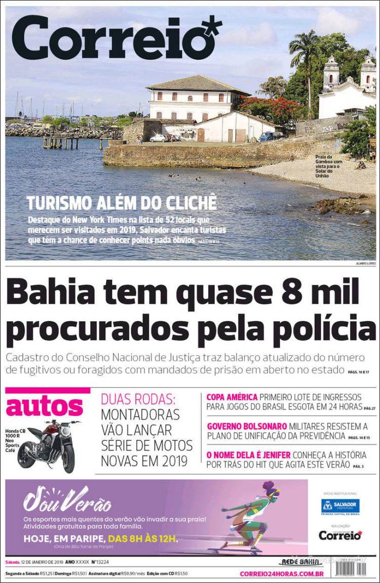 Portada de Correio* (Brasil)
