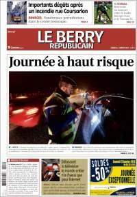 Portada de Berry Republicain (Francia)