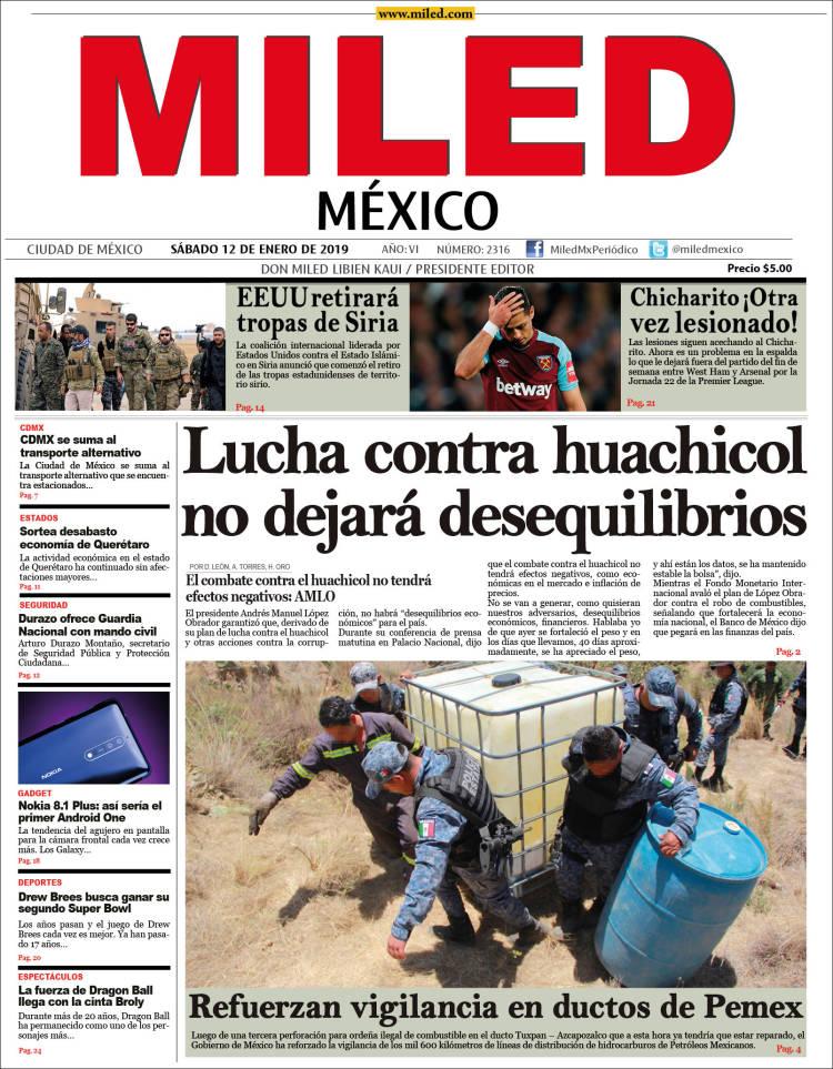 Portada de Miled (México)