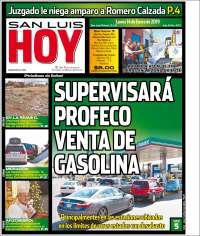 Portada de San Luis Hoy (Mexique)