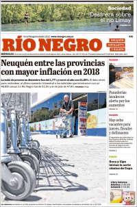 Portada de Rio Negro de Neuquen (Argentina)