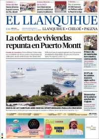 Portada de El Llanquihue (Chili)
