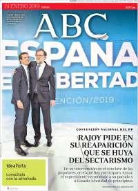 Portada de ABC (España)