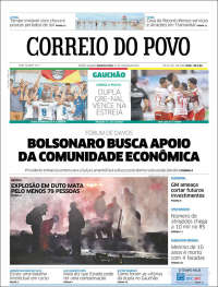 Portada de Correio Do Povo (Brasil)
