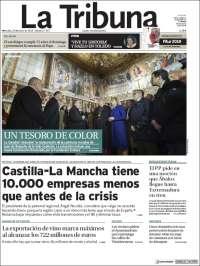 Portada de La Tribuna de Toledo (España)