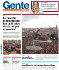 Portada de Gente en Palencia (España)