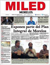Portada de Miled - Morelos (México)