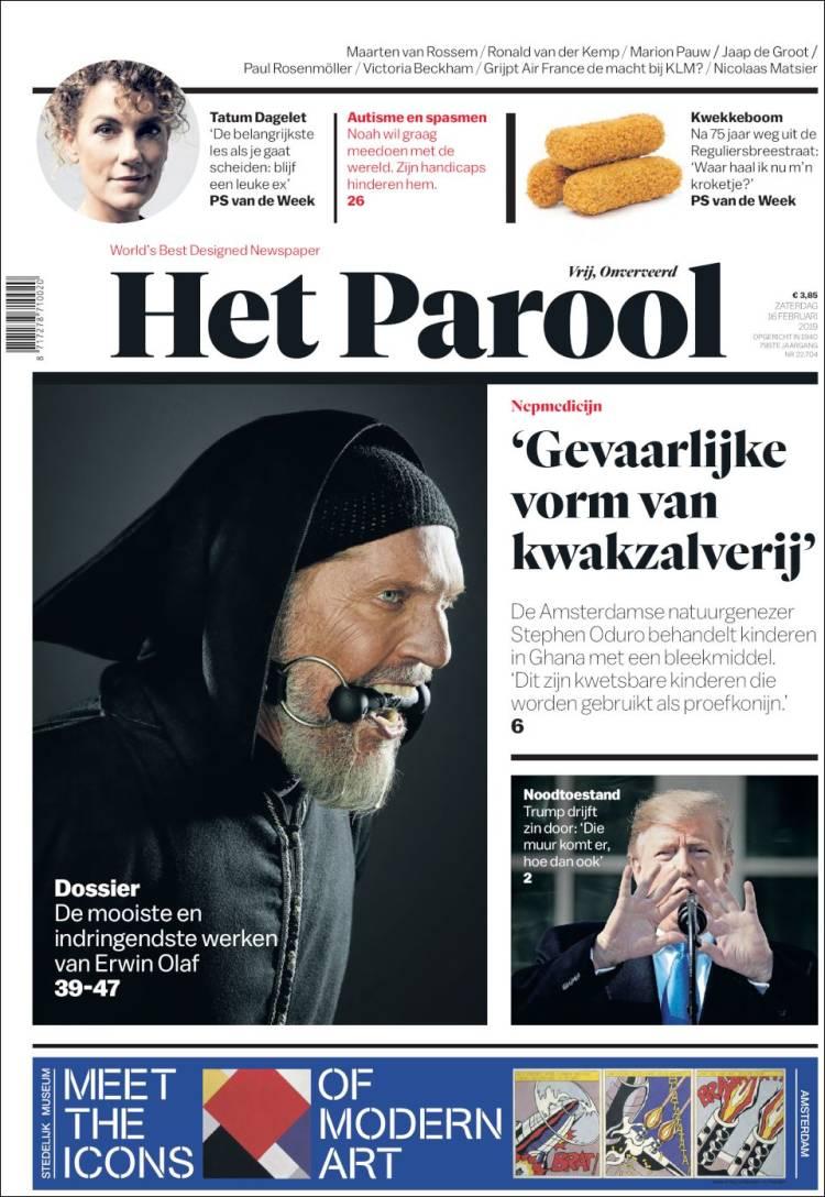 Portada de Het Parool (Netherlands)