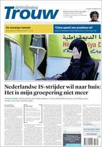 Portada de Trouw (Pays-Bas)