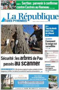 Portada de La République des Pyrénées (France)
