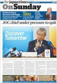Portada de The Japan Times (Japan)