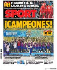 Portada de Sport (Spain)