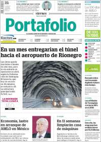 Portada de Portafolio (Colombie)
