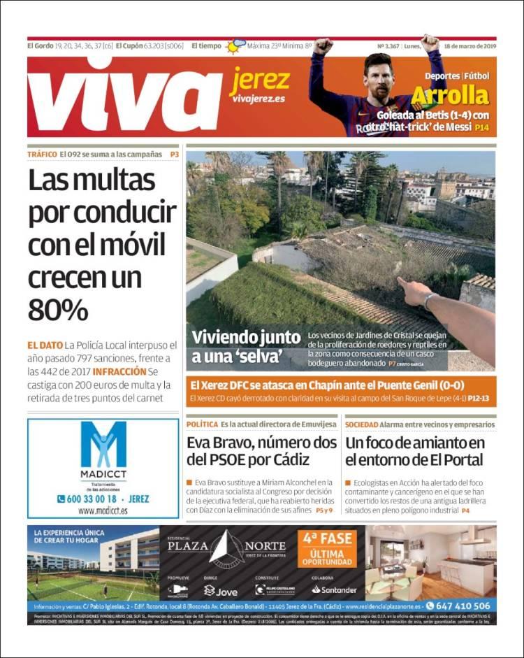 Portada de Información - Jerez (España)
