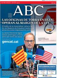 Portada de ABC (Espagne)