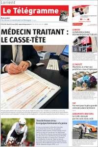 Portada de Télégramme (France)
