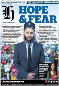 Portada de The New Zealand Herald (Nueva Zelanda)