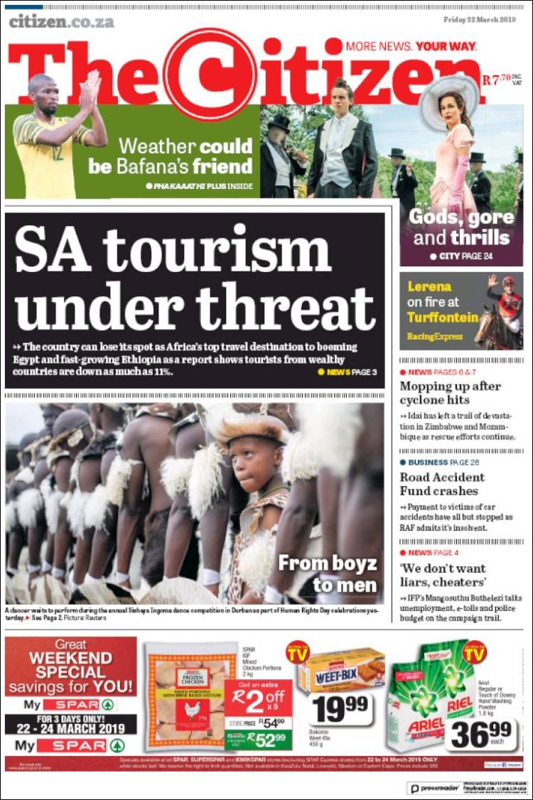 Portada de The Citizen (South Africa)
