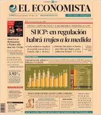 Portada de El Economista (Mexico)