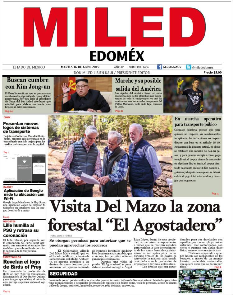Portada de Miled - Estado de México (Mexique)