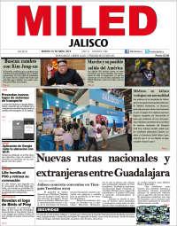 Portada de Miled - Jalisco (Mexique)