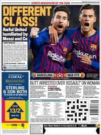 Portada de Daily Mail Sport (United Kingdom)