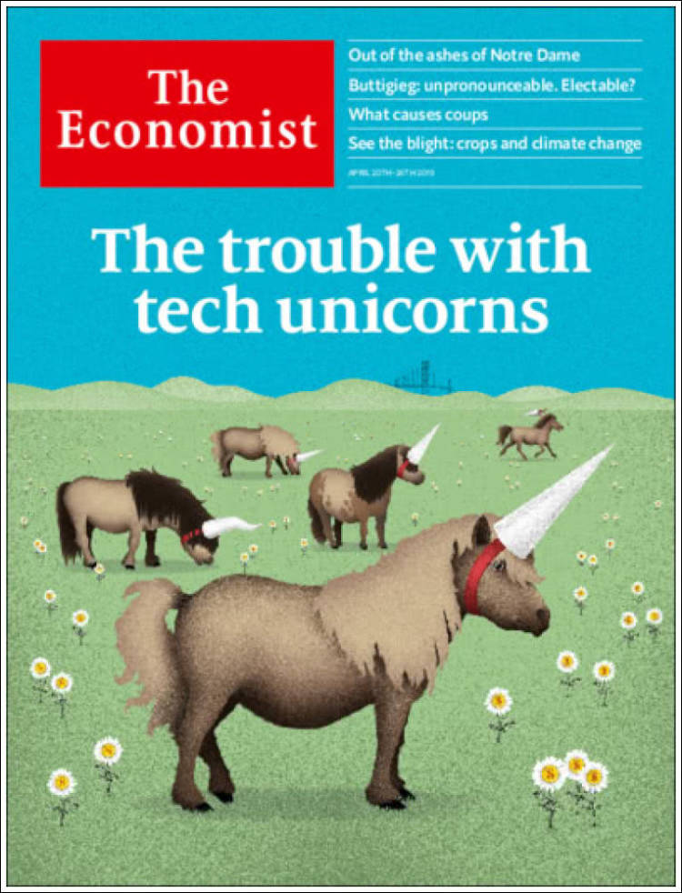 Portada de The Economist (Royaume-Uni)