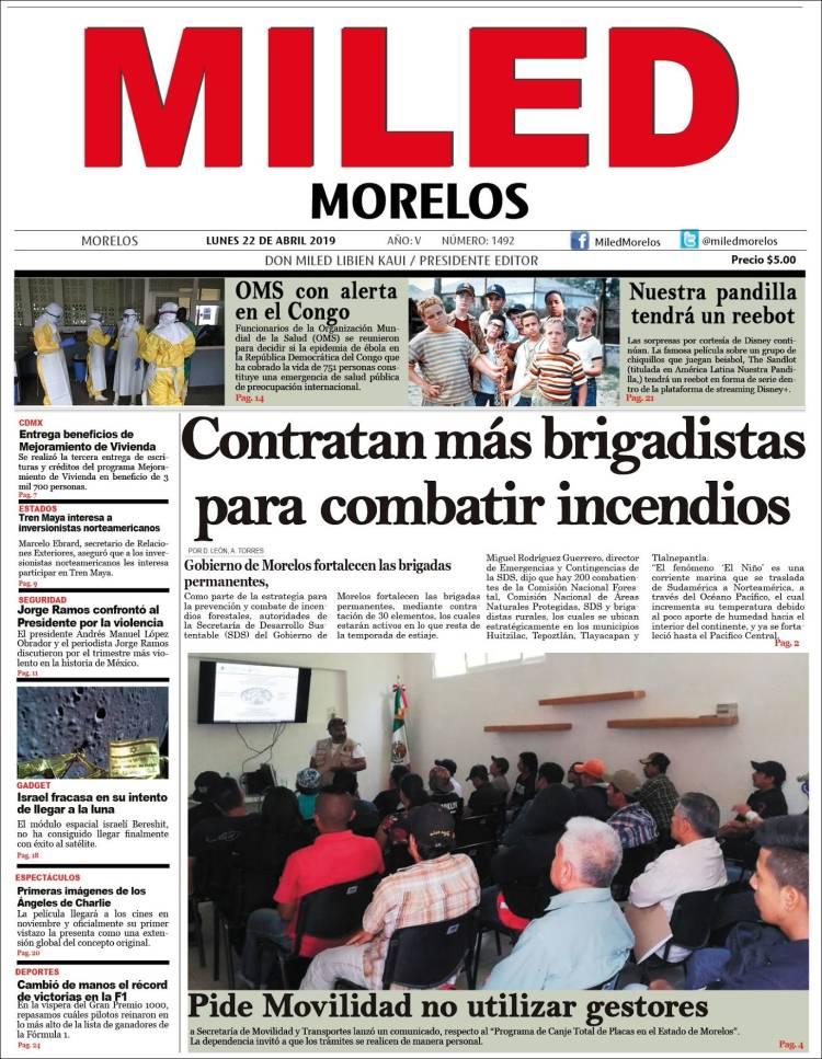 Portada de Miled - Morelos (Mexico)