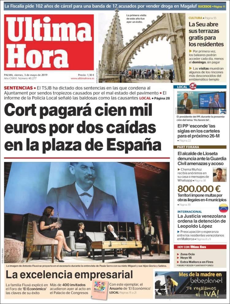 Periódico última Hora España Periódicos De España