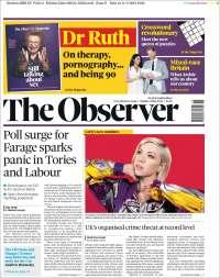 Portada de The Observer (United Kingdom)