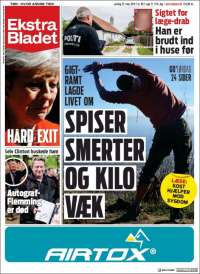 Portada de Ekstra Bladet (Danemark)