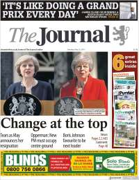 Portada de The Journal (Royaume-Uni)