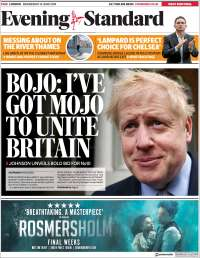 Portada de Evening Standard (United Kingdom)
