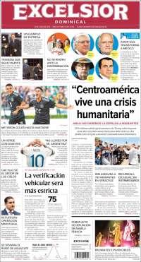 Portada de Excelsior (Mexico)