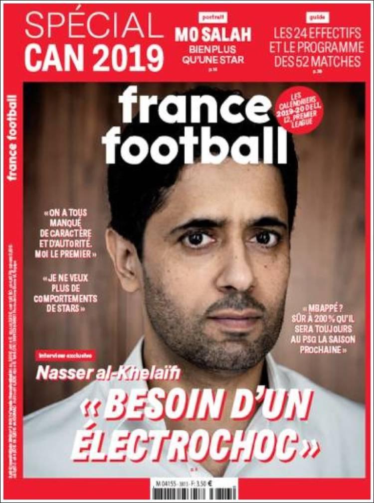 Portada de France Football (France)