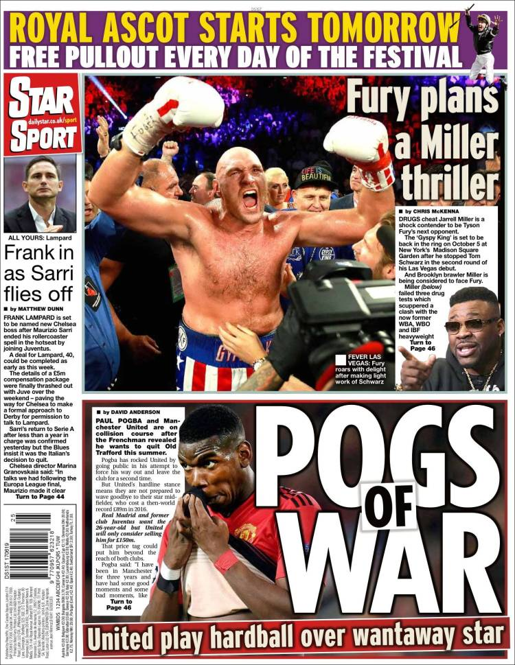 Portada de Star Sport (Reino Unido)