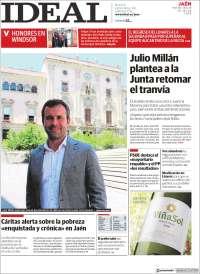 Portada de El Ideal de Jaén (España)