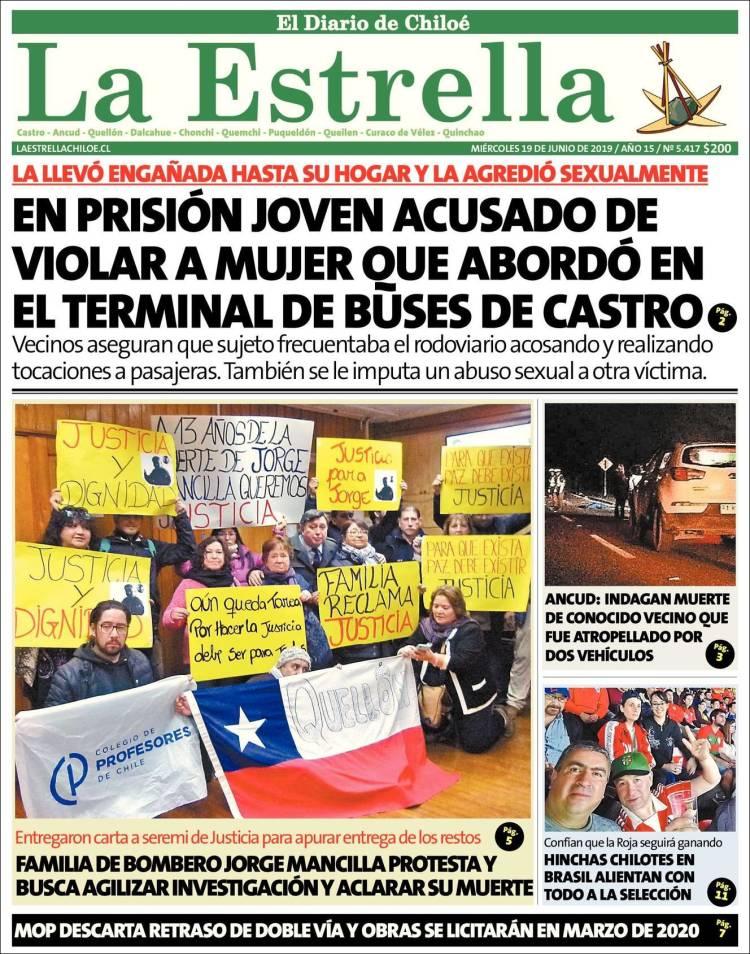 Portada de Estrella de Chiloé (Chile)
