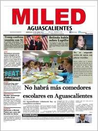 Portada de Miled - Aguascalientes (Mexique)