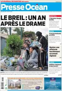 Portada de Presse Ocean (France)
