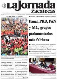 Portada de Jornada de Zacatecas (Mexique)