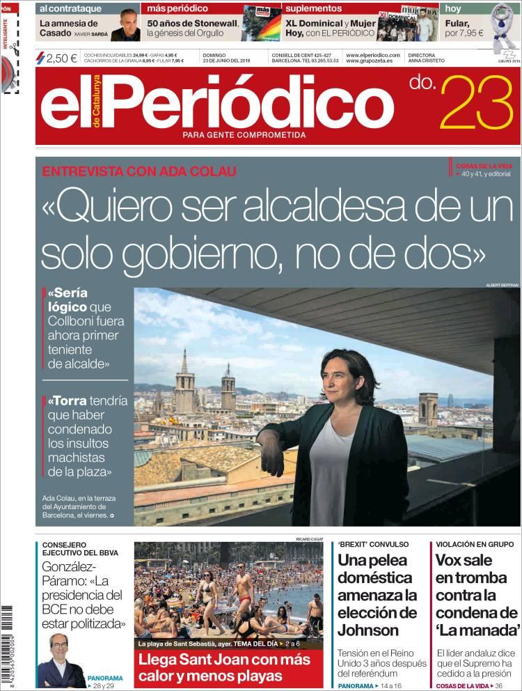 Periódico El Periódico España Periódicos De España