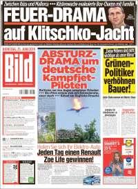 Portada de Bild (Allemagne)