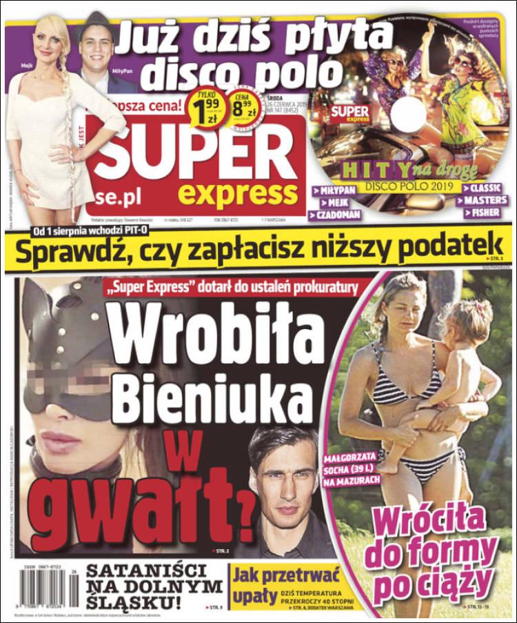Portada de Super Express (Poland)