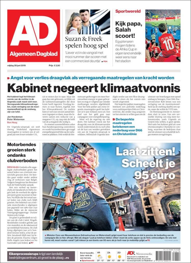Newspaper Ad Netherlands Newspapers In Netherlands