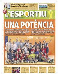 Portada de L'Esportiu (España)