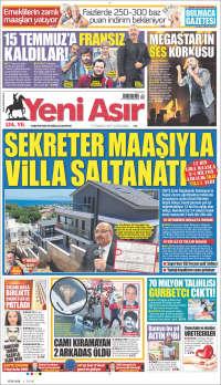 Portada de Yeni Asır (Turkey)
