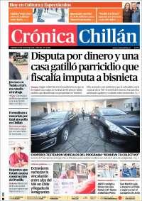 Portada de Crónica Chillán (Chili)