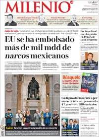 Portada de Milenio (Mexique)