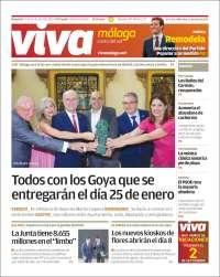 Portada de Viva Málaga (Spain)